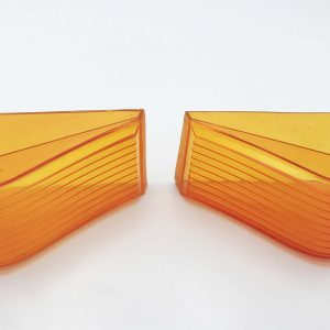 Brougham Pair of Rear Amber Indicator Lens