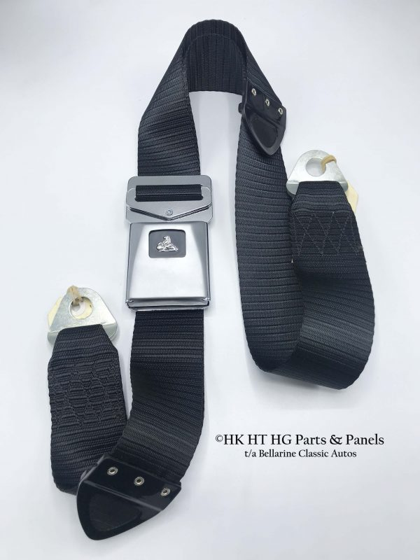 HT HG Black Centre Lap Seat Belt