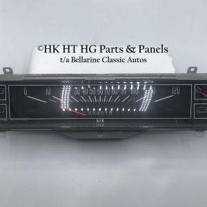 NOS HK Speedo Dash 120 mph Clear Lens non GTS