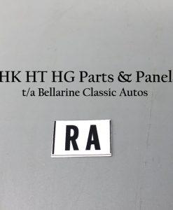 RA Horn label