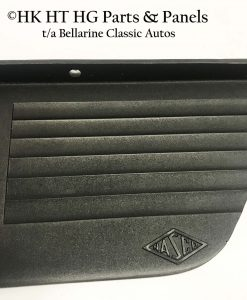 Close up of the replicated texture, grooves and NASCO logo