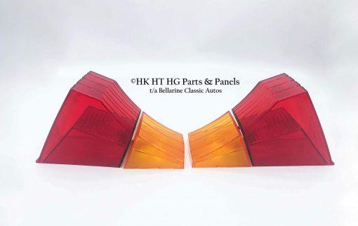 HK Holden Tail light lens Set