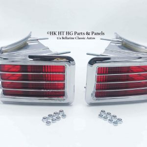 HK GTS Monaro Premier Tail light bezel lens Set