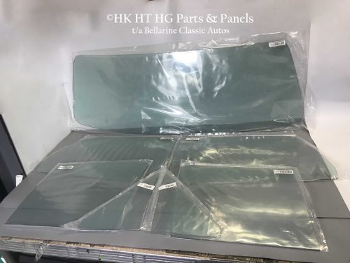 HT HG Sedan Toughened Glass Set Green Tint