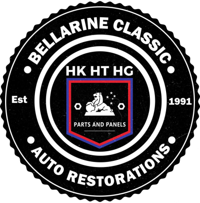 Bellarine Classic Auto HK HT HG Parts and Panels Logo