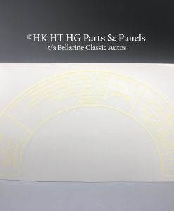 Holden 161 186 Air Cleaner Decal