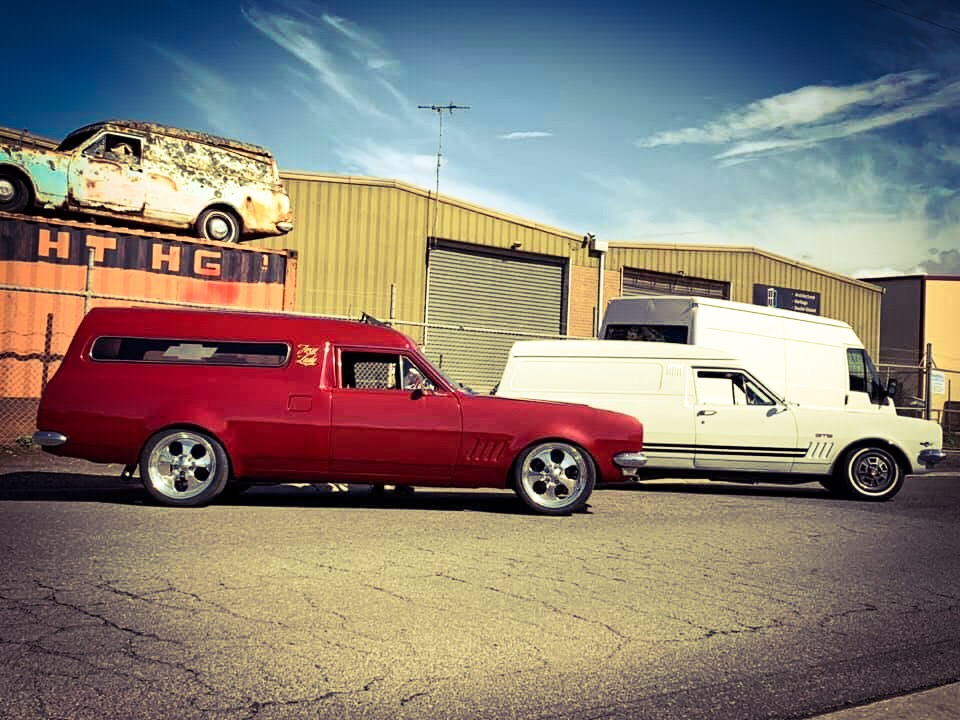 Foxy Lady and HT GTS Panelvan
