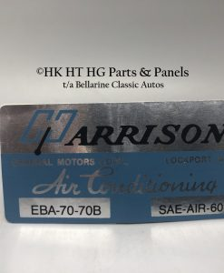 Harrison Air Con Decal 1