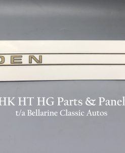 Holden HK HT HG 186S Rocker cover decal