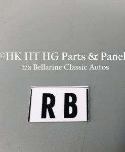 RB Horn label