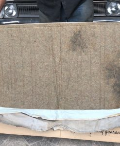 HK Belmont Sedan Rear Bench Base Cover in Onyx Green