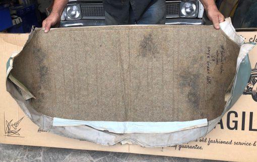 HK Belmont Sedan Rear Bench Base Cover in Onyx Green