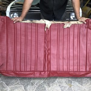 HK Belmont Sedan Rear Top Cover in Goya Red