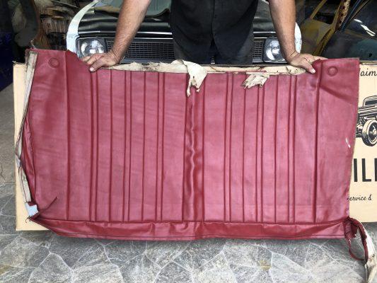 HK Belmont Sedan Rear Top Cover in Goya Red