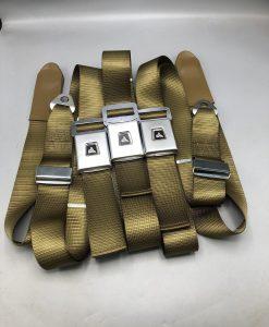 HK HT Antique Gold Front Seat belts