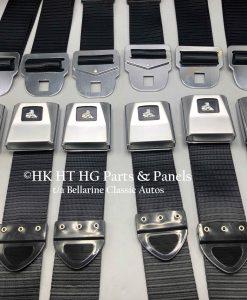 HT HG Black Seat Belts