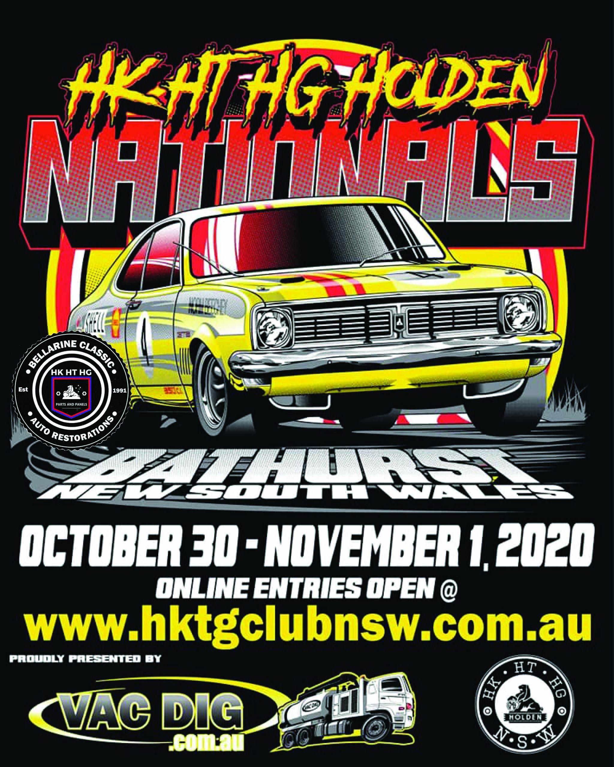 KTG Nats Bathurst Poster