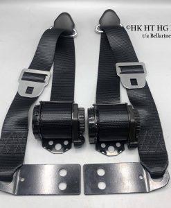 Retractable set of 5 Black