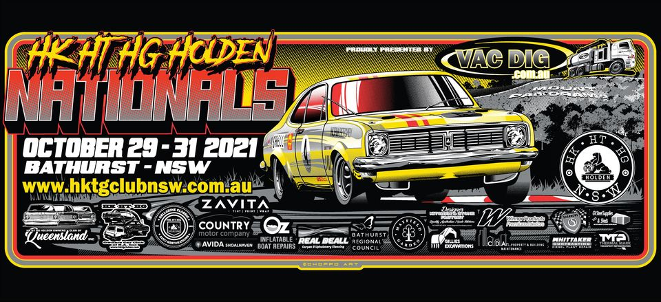 HK HT HG Nationals Bathurst 2021