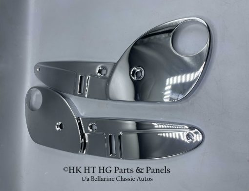 Chrome Recliner Bucket Seat Side Covers